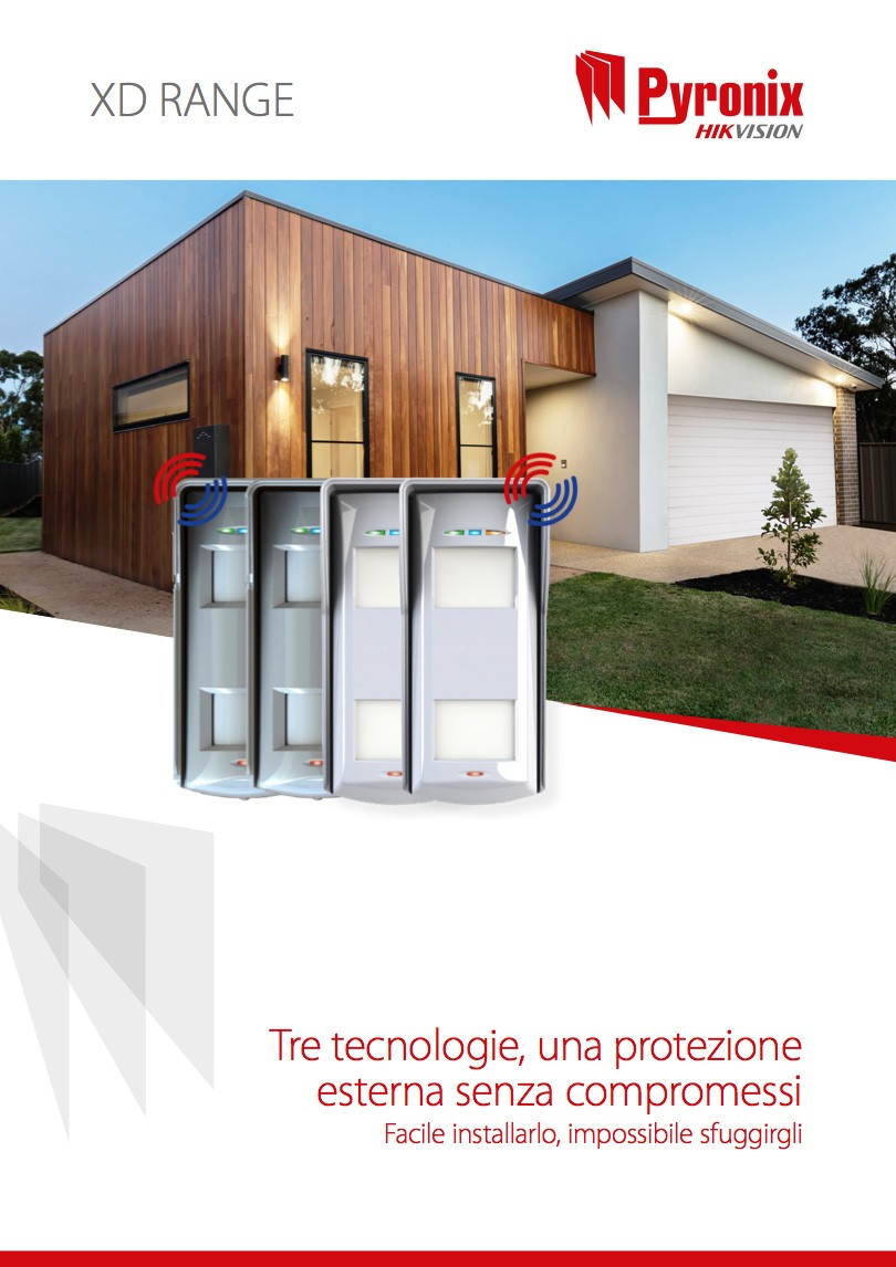 PYRONIX range catalogo