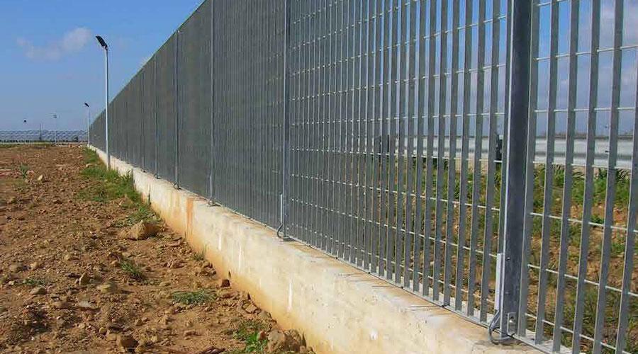 recinzione allarmata