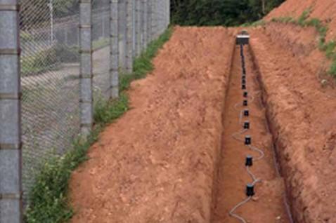 sensori interrati recinzione