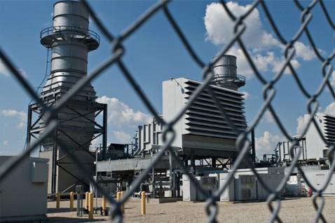 recinzione impianto industriale
